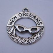 New Orleans Personalised Wine Glass Charm